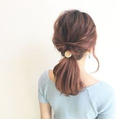 20 stunning wedding hairstyles ideas – My hair and beauty Office Hairstyles, Bride Hairstyles, Hairstyles Haircuts, Pretty Hairstyles, Hair Arrange, Japanese Hairstyle, Stylish Hair, How To Make Hair, Hair Pins
