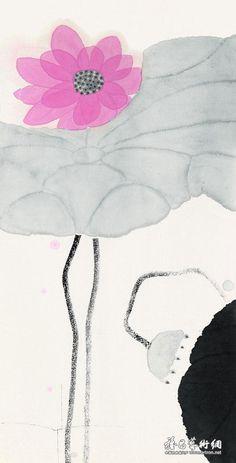 真气流衍好惬意(三)《中国近现代名家画集——陈家泠》
