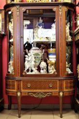 Vitrine Glas, XIX Jahrhundert