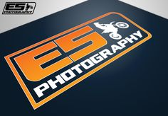 Logo design for Photography, a small photography business, specialising in photographing motocross events. They asked us to come up with a logo that they could use on different marketing materials like t-shirts and banners. Marketing Materials, Photography Business, Motocross, Banners, Logo Design, Events, Logos, Shirts, Fotografie