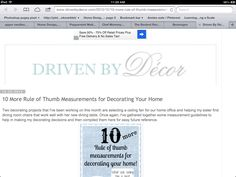 10 decorating tips