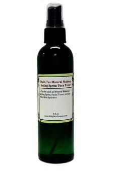Mineral Makeup Setting Spritz | Green Tea Hydrating Toner