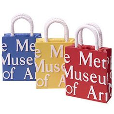 The Metropolitan Museum of Art Shopping Bag 3D Magnets - Magnets & Bookmarks - Stationery & Workspace - The Met Store