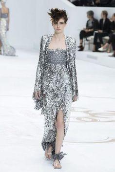 Pariser Modewoche: Chanel (Bild: EPA)