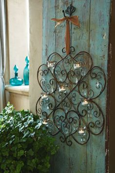 Wall décor can find a home, in doors or out.