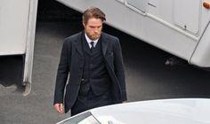 Robert Pattinson - bastidores do filme The lost city of Z. 3/9/2015.