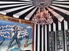 circus tent living room