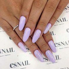 Bright purple nails x