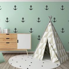 48 Anchor Wall Stickers, Kids Wall Stickers, Nursery Wall Decals, Confetti Wall Decal, Vinyl Wall Confetti, Wallpaper Murals, Kids Stickers Boys Wall Stickers, Polka Dot Wall Decals, Wall Stickers Quotes, Polka Dot Walls, Nursery Wall Decals, Wall Decal Sticker, Boy Room Paint, Boys Room Paint Ideas, Room Ideas