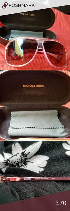 Michael Kors sunglasses with case Like new. Send me an offer Michael Kors Accessories Sunglasses