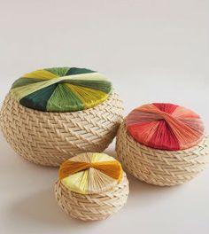 Saiba já passo a passo como fazer cestas personalizadas com linha de bordar
