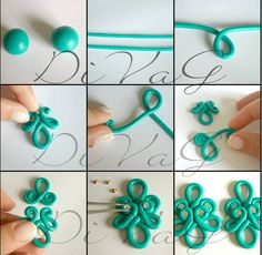 Picture Tute only. #Polymer #Clay #Tutorials