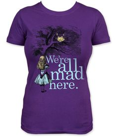 ThinkGeek :: We're All Mad Here Babydoll