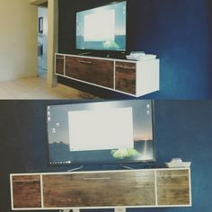 DIY Floating TV Unit