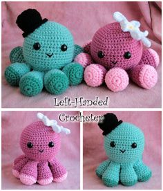 Crochet octopus! So cute