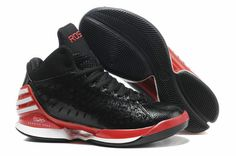 check out 21f75 fbb57 Adidas Adizero Rose Black Red Basketball Shoes website full of shoes for off