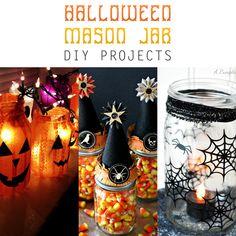Halloween Mason Jar DIY Projects - The Cottage Market