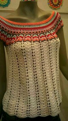 ♥ DIY... Inspiring Crochet Idea ♥  Beautiful Gorgeous Crochet Blouse