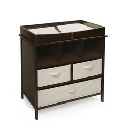 Badger Basket Company Estate Baby Changing Table Espresso Http Www