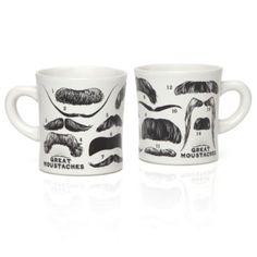 Great Mustaches Mugs
