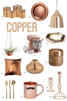 Excited to incorporate some copper into my fall decorating!