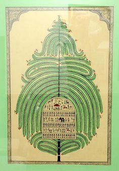 Tree of Life by Bhaskar Mahapatra, PM Modi's gift to French Prez, called 'pattachitra', it uses pigments on silk, emphasis on sustenance of life and clean environment