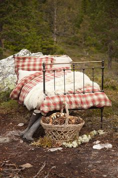 okay so, this is outside, but i really like this bed!