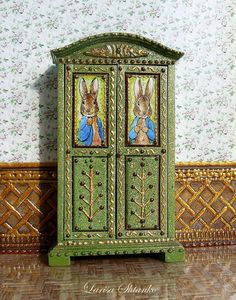 Dollhouse Miniature Opening Late 1800/'s Victorian Birthday Cards 1:12 Scale