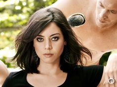 When I finally muster up the courage... I will be getting my hair cut like Aubrey Plaza.. One Of my favorite human beings!