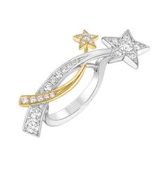 Bague Entrelacs d'Etoiles de Chanel Joaillerie en diamants