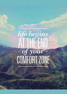 Das Leben beginnt am Ende deiner Komfort-Zone ... Coaching hilft dabei, die…                                                                                                                                                                                 More