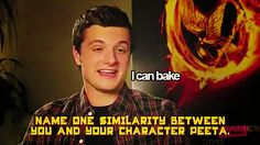 He'll probably cook for you.   Community Post: 10 Reasons To Fall In Love With Josh Hutcherson