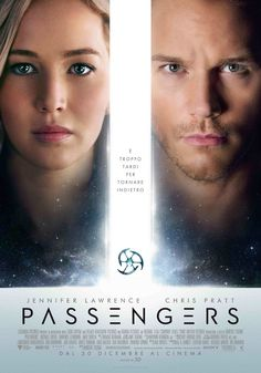 Passengers, il film con Chris Pratt e Jennifer Lawrence, dal 30 dicembre al cinema.