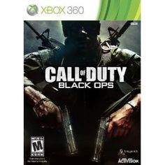 Call of Duty: Black Ops --- http://www.amazon.com/Call-Duty-Black-Ops-Xbox-360/dp/B003JVKHEQ/?tag=zaheerbabarco-20