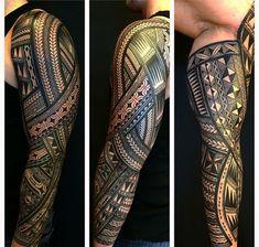 Bad Tattoos, Dream Tattoos, Body Art Tattoos, Tatoos, Full Tattoo, Full Sleeve Tattoos, Arm Tattoo, Polynesian Tribal Tattoos, Filipino Tribal Tattoos