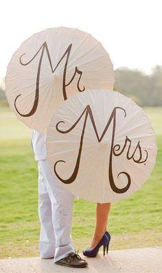 Unique Wedding Photo Idea