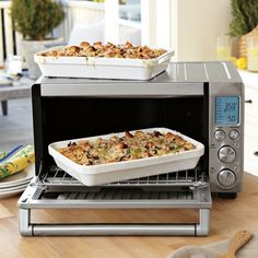 Breville Smart Convection Oven: Remodelista;use a convection oven in tiny house instead of a full sized oven.