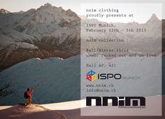 #nnim goes #ISPO 13