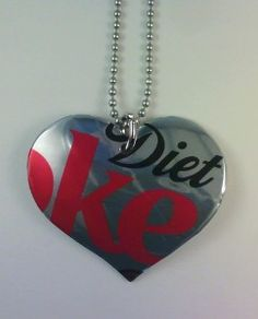 Soda Can Pendant - When you can't think of what to give the person you gifted with the bra caddy.