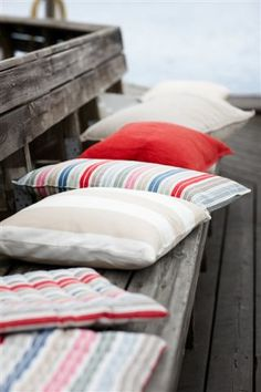 Linum in Ireland - Cushions