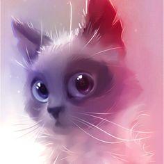 Lovely grey cat http://apofiss.deviantart.com/#gallery