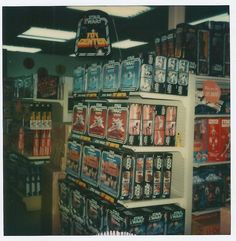Kenner Star Wars Toy Display in Value City, October 5th 1979, Clarkwell, Indiana