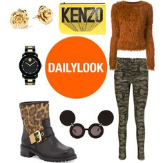 A fashion look from February 2015 featuring Kenzo sweaters, Boohoo jeans and Giuseppe Zanotti boots. Browse and shop related looks.