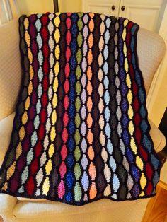 Streamwave Throw By Kim Guzman - Free Crochet Pattern - (ravelry)