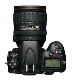 Nikon D800E Top View.  $3,000.00