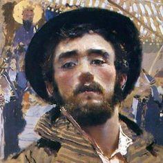 Francesco Paolo Michetti Self-Portrait, 1877.