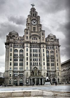 Liver Building, Liverpool.  Visited Liverpool this year.  What a great city.