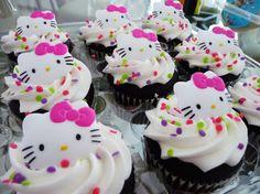 Hello+Kitty+Cupcakes   Hello Kitty cupcakes by ~Pastelhorror on deviantART
