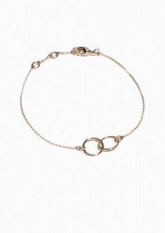 & Other Stories   Oval Loop Bracelet