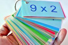Imprimible con las tablas de multiplicar. http://diariodenaii.blogspot.com.es/2015/03/tablas.html